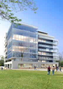 3d render building