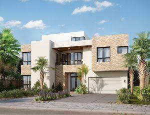 3d rendering house