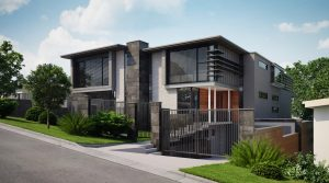 3d render for high end property