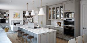 3d render kitchen 2