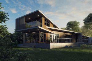 3d render for real estate property