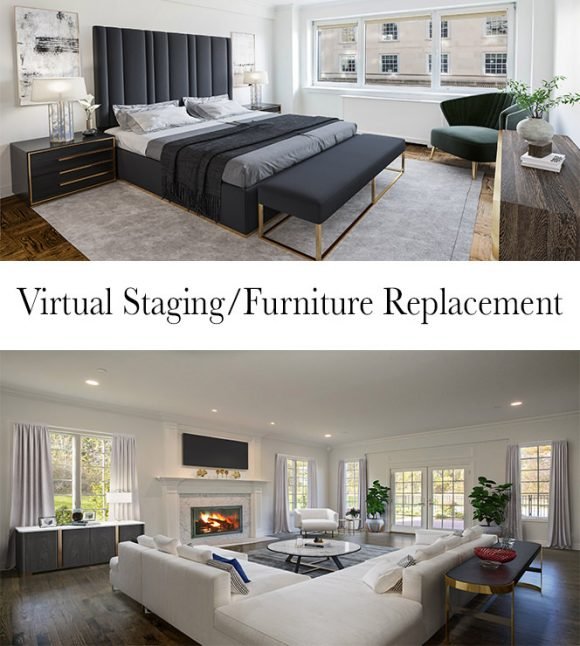 Virtual Staging and Furniture Replacement