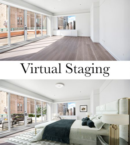 virtual staging for real estate listings