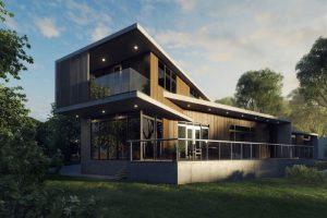 3D home rendering