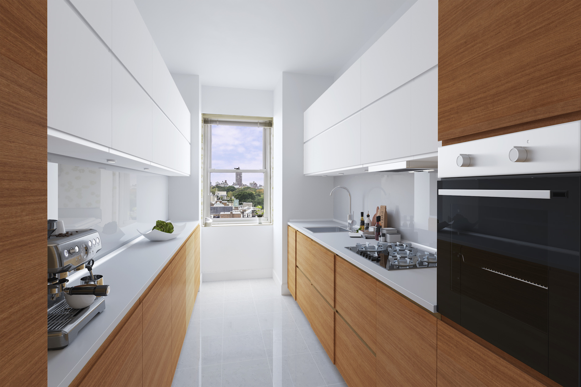 virtual staging in kitchen