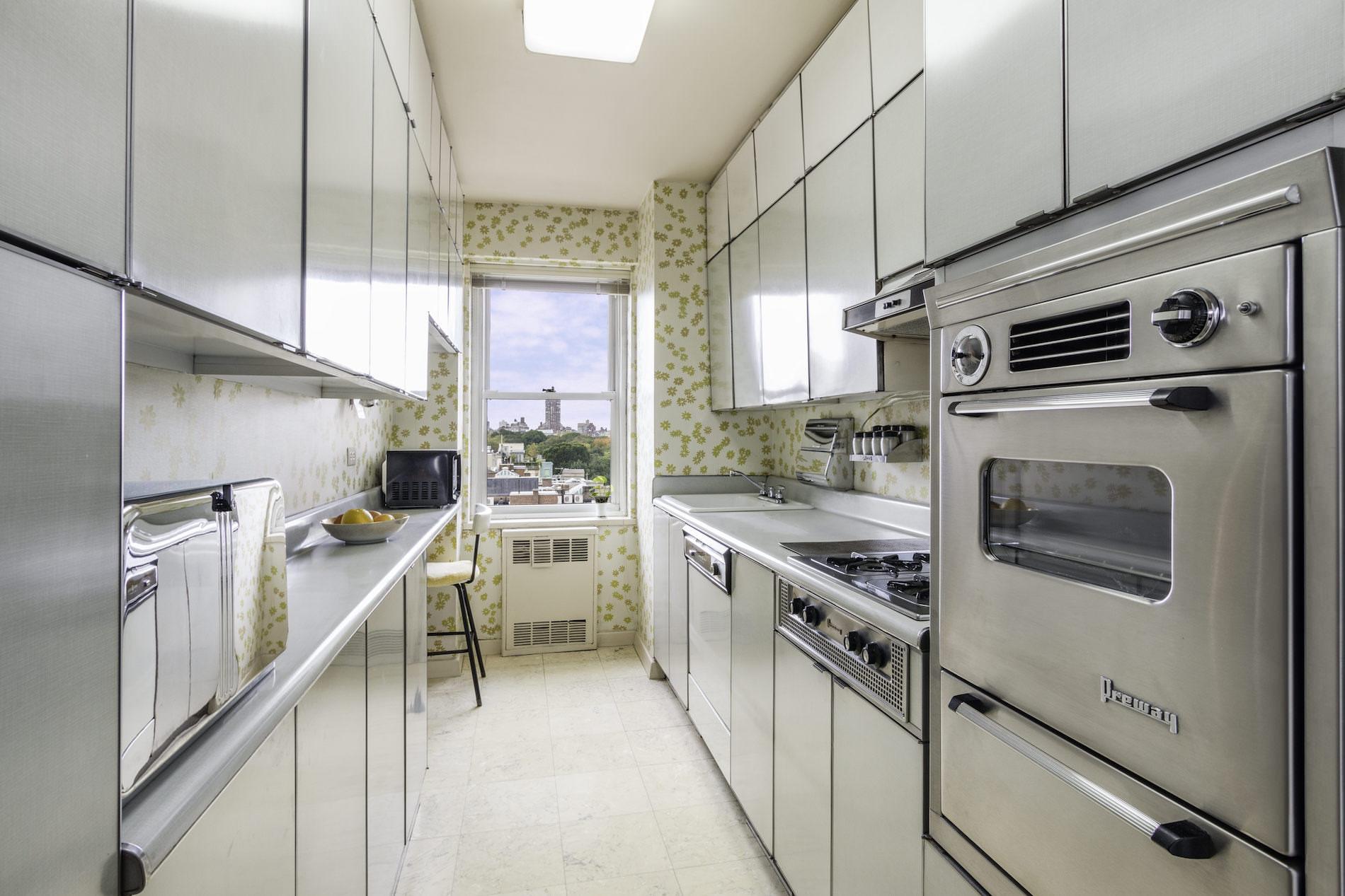 Virtual kitchen staging