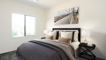 virtual staging of 3rd bedroom